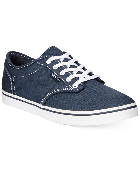 vans womens atwood low laceup sneakers