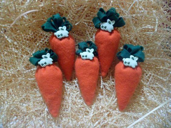 sachês cenourinhas imã de geladeira