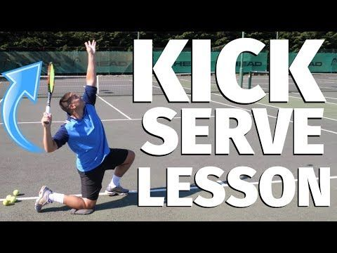 How To Improve Your Tennis Kick Serve 7 Drills Youtube In 2020 Tennis Lessons Tennis Tips Tennis
