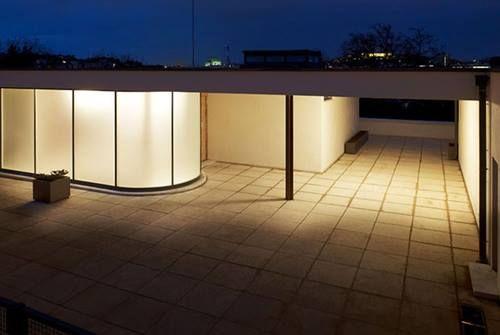 Villa Tugendhat (1930) at night. The legendary modernist masterpiece by Ludwig Mies van der Rohe #jpwarren #architecture
