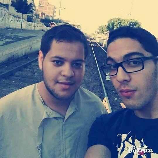 After Eid el-adha prayers with my friend Franco