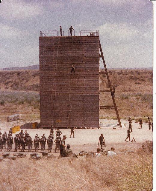 San Onafre rappel tower Camp Pendleton