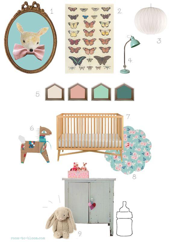 Vintage nursery, Vintage nursery decor and Nurseries on Pinterest