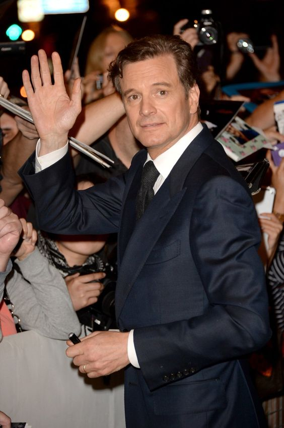 Colin Firth always best dressed! at the 'The Devil's Knot' Premiere