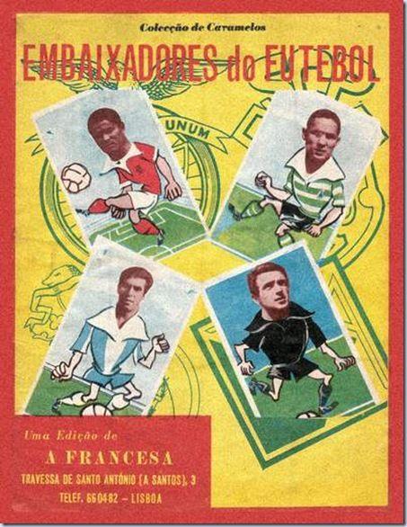 Caderneta de embaixadores do futebol
