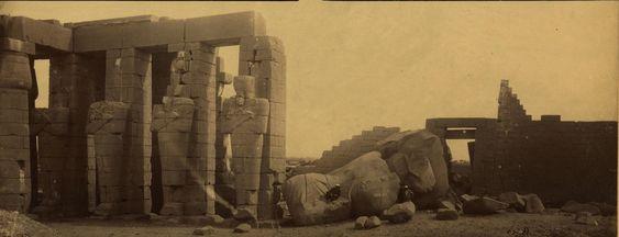 Фивы. Мемнониум Сети. 1870
