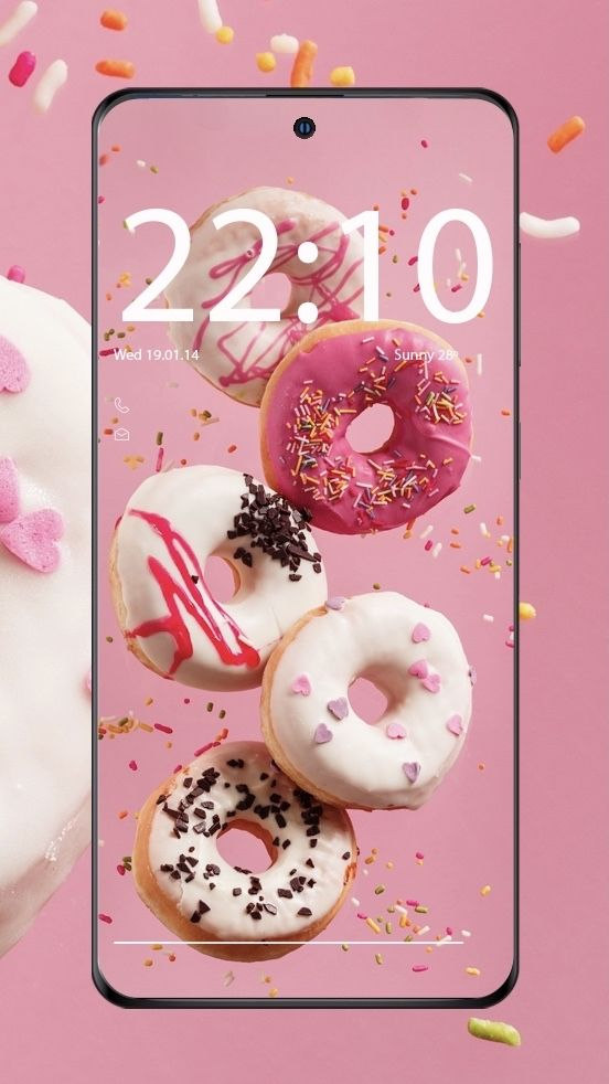 Donuts In 2021 Wallpaper Phone Wallpaper Wallpaper For Your Phone
