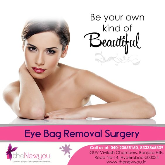 Your eyes are the mirror of your heart, give them the #beauty they #deserve with the #EyebagRemovalSurgery from theNewyou.