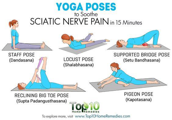 yoga poses for sciatica