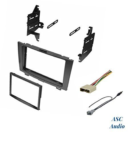 ASC Audio Car Stereo Dash Install Kit, Wire Harness, and ... on