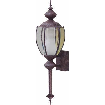 Volume Lighting 1 Light Outdoor Sconce