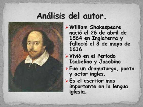 Biografía de Shakespeare
