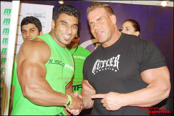 SANGRAM CHOUGULE and Jay Cutler
