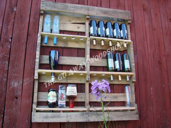 Skid of Booze by TheGoAwayWoodshop on Etsy, $130.00