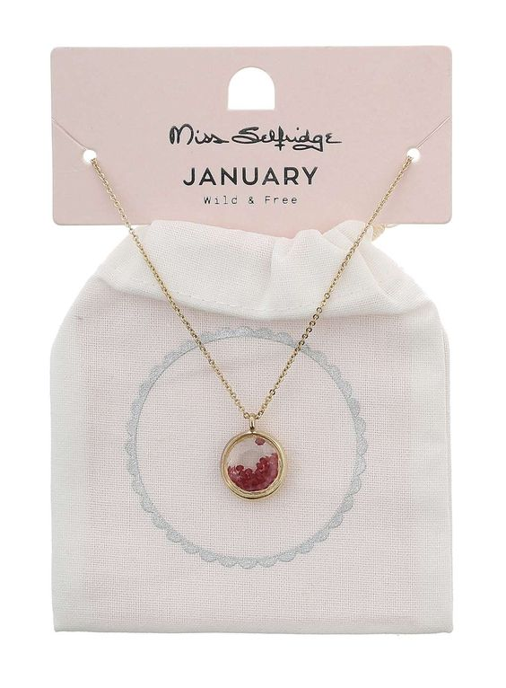 January Birthstone Shaker - Diva Schmuck - Accessoires - Miss Selfridge Germany