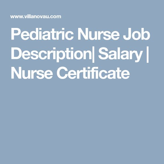 The 25+ best Nurse job description ideas on Pinterest School - Nurse Job Description