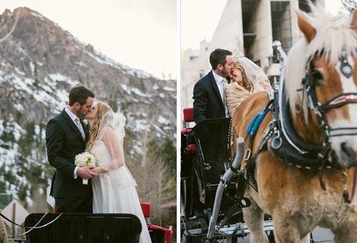 Lake Tahoe Winter Wedding Inspiration | Wedding Photography by Annie X at @Squaw Valley  via TahoeUnveiled.com #LakeTahoeWeddings