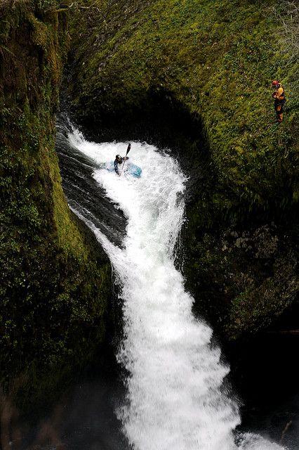 Kayaking de perder o fôlego.