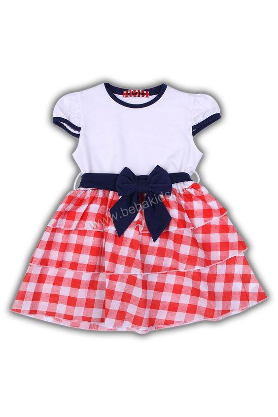 Платье с бантом низ клетка рюши: Низ Клетка, Color, Бантом Низ, Клетка Рюши, Children Fashion