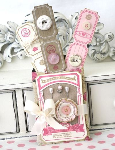 adorable...love the vintage tickets