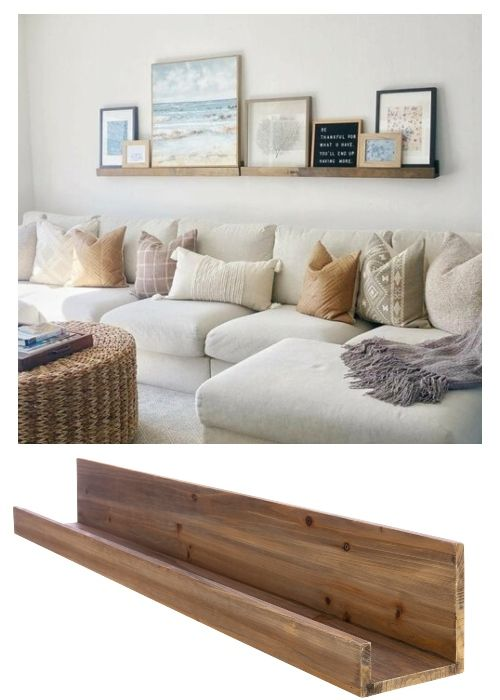 30 Coastal Gallery Walls Inspiration Ideas To Create A Compelling Wall Art Display Coastal Gallery Wall Gallery Wall Shelves Living Room Decor Neutral