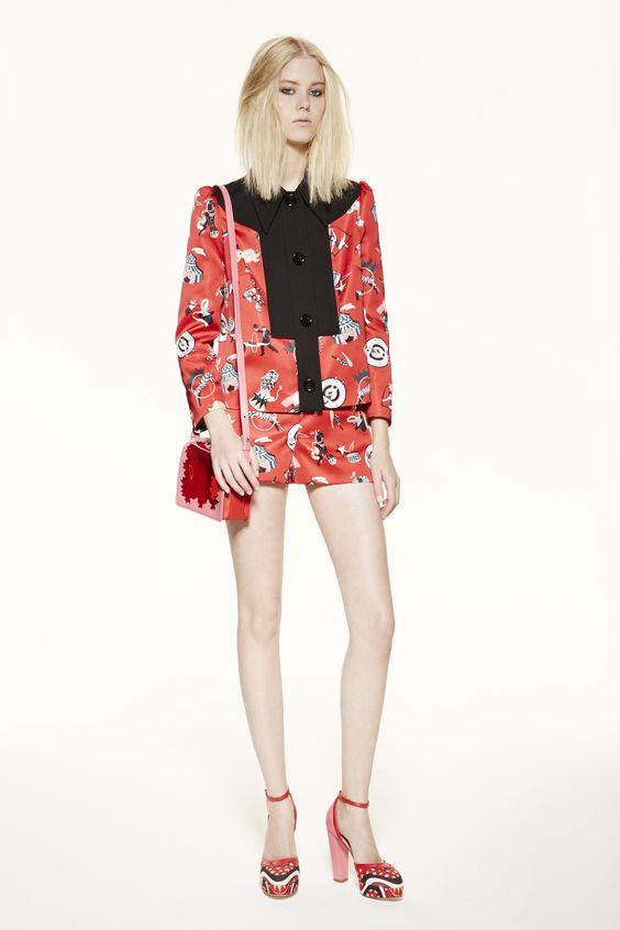 M Missoni Spring 2016 Ready-to-Wear Fashion Show - Amalie Schmidt
