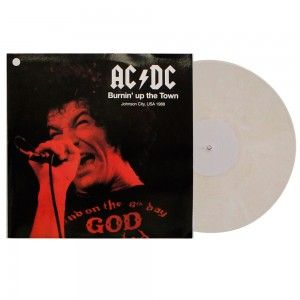#AC/DC ‎– #BurninUpTheTown - #vinil #vinilrecords #music #rock  #colordisc