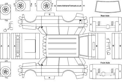 1 2 3 4  een range rover van papier