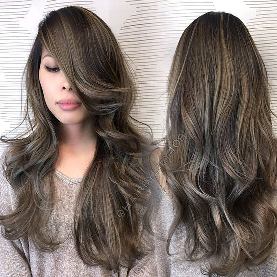 Balayage Ash Brown