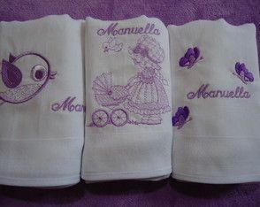 Fralda Kit c/ 3 Manuella