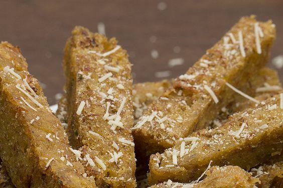 Aprenda a fazer o palitinho de polenta com carne seca: | Um novo petisco chegou…