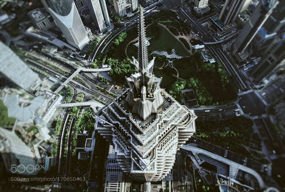Jin Mao Tower by BlackStation. @go4fotos