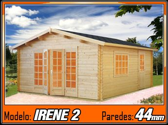Caseta de madera Irene 2 - 450x570cm