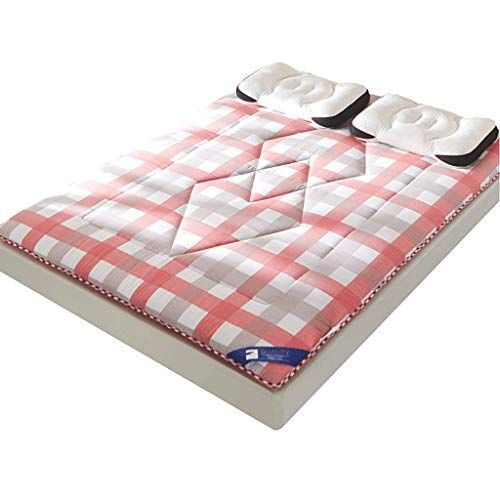 Hwjz Cotton Mattress Thickened Student Dormitory Sponge Pad Household Bedding Color B Size 100x200cm Cotton Mattress Student Dormitory Mattress