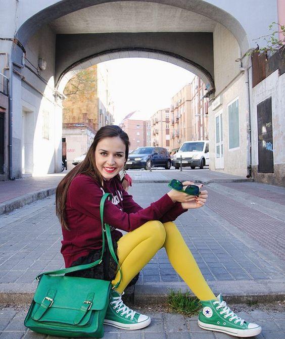converse bag yellow