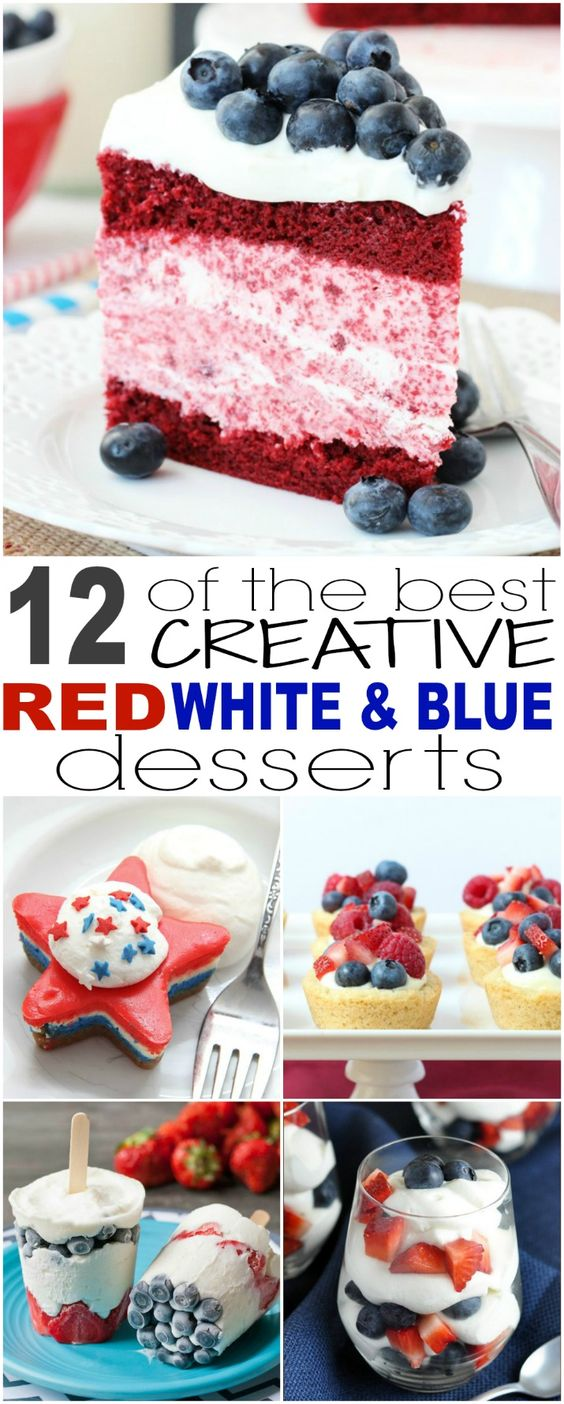 12 of the Best Creative Red, White and Blue Desserts