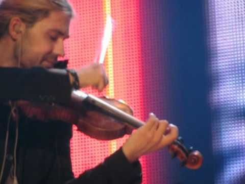 David Garrett Dortmund, 13.04.2012 Viva la vida Coldplay