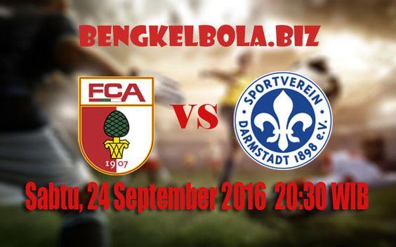 Prediksi Augsburg vs SV Darmstadt 98 24 September 2016