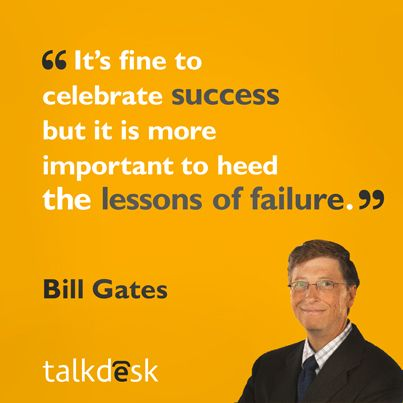 Success Quotes By Bill Gates