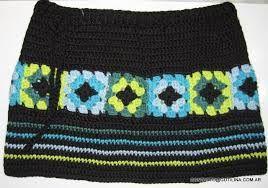 faldas tejidas a crochet