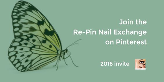 Are you part of the community? Get Your Invitation for @Inspirationail's Re-Pin Nail Exchange – 2016 Invite Open