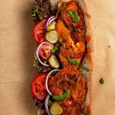 Israeli Schnitzel Sandwich Recipe - Saveur.com