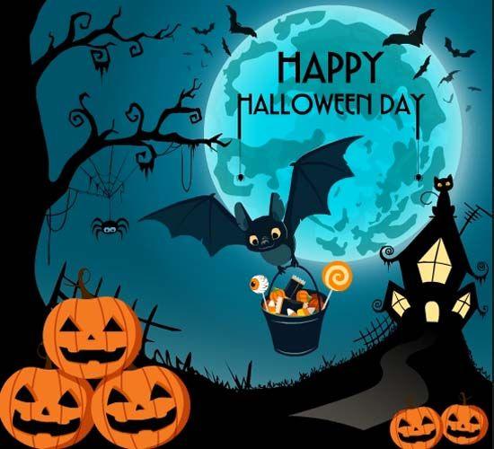 Have A Happy Halloween! A fun Halloween card for you!   Halloween wishes,  Halloween greetings, Happy halloween