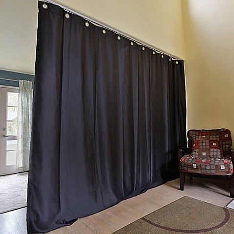 Roomdividersnow X Large Ceiling Track Room Divider Kit B With 9