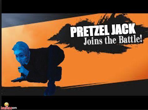 Pretzel Jack Joins The Battle Supersmashbros Supersmashbrosultimate Gaming Memes Channelzero Most Hilarious Memes Memes Top Memes