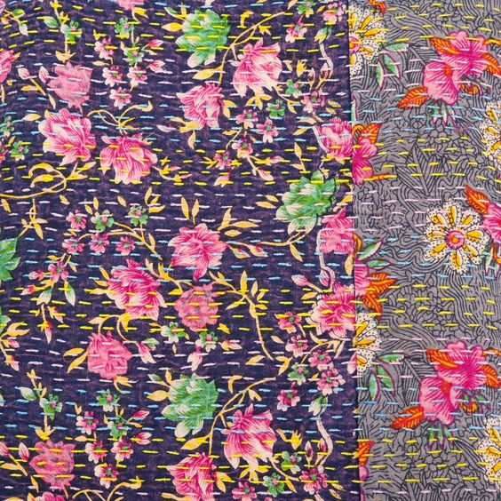 Fair Trade floral patchwork throw | Oxfam GB | Shop
