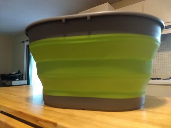 Adventuridge Collapsible Tub Aldi Reviewer Tub Storage Tubs Cleaning Dishes