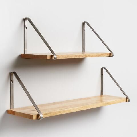 Antique Zinc Metal Mix Match Shelf Brackets Shelves Wall Shelves Shelf Decor