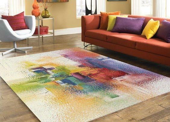 teppich, design modern , 200x300 cm, mehrfarbig, schurwolle, Wohnzimmer design