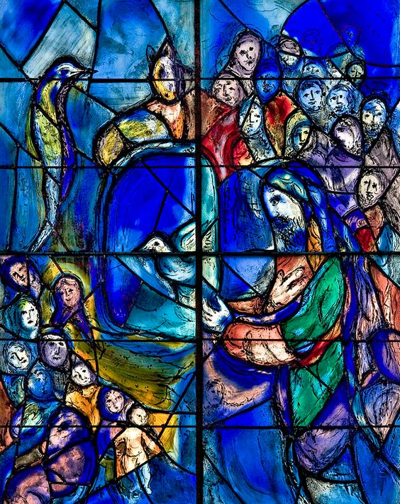 Marc chagall, Vitrail and Mainz on Pinterest Chagall Bijbel